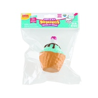 Soft N Slo Squishies Sweet Shop Series 1 - Cherry Ice Cream Waffle Cup