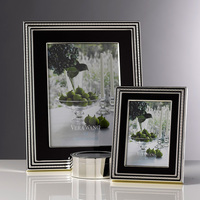 "Wedgwood Vera Wang With Love Noir Photo Frame 5""x7"""