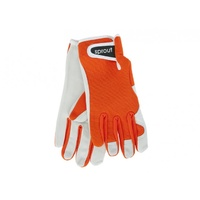 Sprout Goatskin Gloves - Orange