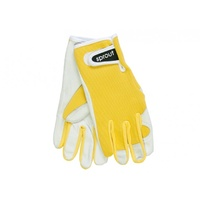 Sprout Goatskin Gloves - Yellow