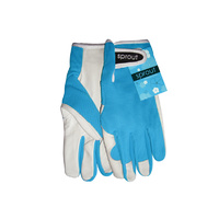 Sprout Goatskin Gloves - Aqua