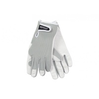 Sprout Goatskin Gardening Gloves - Grey