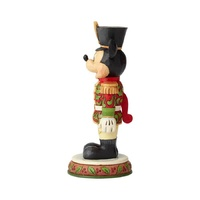 Jim Shore Disney Traditions - Mickey Mouse Nutcracker - Stalwart Soldier