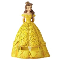 Jim Shore Disney Traditions - Belle with Chip Charm
