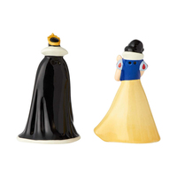 Disney Ceramics Salt and Pepper Shaker Set - Snow White and Evil Queen