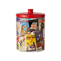 Disney Ceramics Cookie Canister - Mickey Mouse Collage