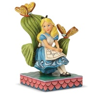 Jim Shore Disney Traditions - Alice In Wonderland Curiouser and Curiouser Figurine
