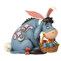 Jim Shore Disney Traditions - Eeyore as Easter Bunny Eeyore Cottontail Figurine