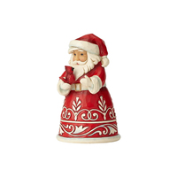 Heartwood Creek Classic - Pint Size Santa with Cardinal