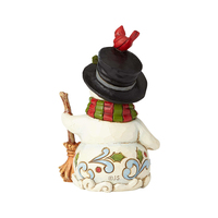 Heartwood Creek Snowman Collection - Mini Snowman with Broom