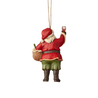 Heartwood Creek Classic - Vineyard Santa Hanging Ornament