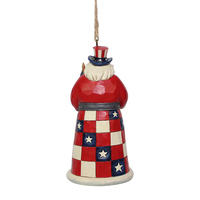 Heartwood Creek Santas Around The World  - American Santa Hanging Ornament