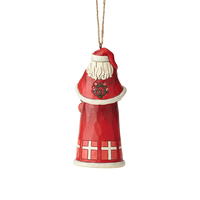 Heartwood Creek Santas Around the World - Danish Santa  Hanging Ornament