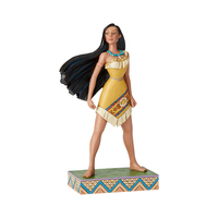 Jim Shore Disney Traditions - Pocahontas Princess Passion Proud Protector Figurine