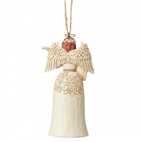 Heartwood Creek White Woodland - Nativity Angel Hanging Ornament