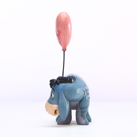 Jim Shore Disney Traditions - Eeyore with a Heart Balloon - Love Floats