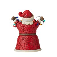 Heartwood Creek Classic - Pint Sized Santa With Lights