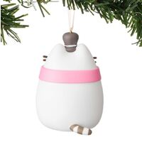 Pusheen Christmas Hanging Ornament - Pusheen Snowman