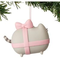 Pusheen Christmas Hanging Ornament - Pusheen Gift Wrapped