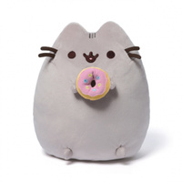 Pusheen Plush 24cm with Donut