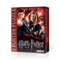 Wrebbit Harry Potter 500 Piece Poster Puzzle - Hogwarts School