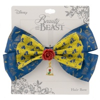 Disney by Neon Tuesday - Beauty & the Beast Enchanted Rose Hair Bow