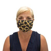 Washable Face Mask - Leopard