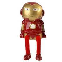 Super Hero Dangley Legs Money Bank - Ironman