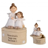 Adoring Angel Trinket Box - Grandma