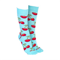 Sock Society - Cherries Blue