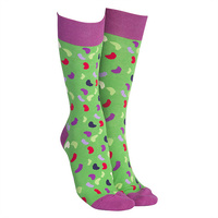Sock Society - Jelly Beans Green