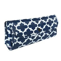Sachi Insulated Folding Market Tote - Moroccan Navy