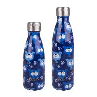 Oasis Insulated Drink Bottle - 350ml Blue Heeler