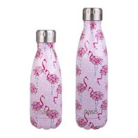 Oasis Insulated Drink Bottle - 350ml Flamingos