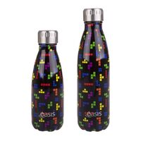 Oasis Insulated Drink Bottle - 350ml Tetrimino