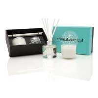 Aromabotanical Diffuser and Candle Gift Pack Pear and Ginger