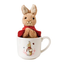 Beatrix Potter Nursery Collection - Flopsy Mug & Soft Toy Gift Set