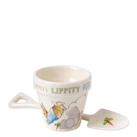 Beatrix Potter Nursery Collection - Peter Rabbit Egg Cup And Spoon Set