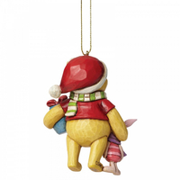 Jim Shore Disney Traditions - Winnie the Pooh and Piglet Hanging Ornament