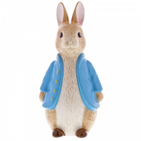 Beatrix Potter Peter Rabbit Money Bank - Sculpted Peter Rabbit