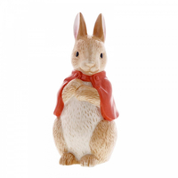 Beatrix Potter Peter Rabbit Money Bank - Sculpted Flopsy