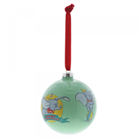 Disney Enchanting Baby Dumbo First Christmas Bauble