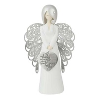 You Are An Angel Figurine 175mm - King and Queen (Wedding)