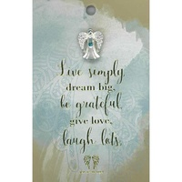 You Are An Angel Pincard - Live Simply