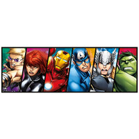 Clementoni Puzzle 1000pc - Marvel The Avengers Panorama