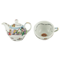 Cardew Design Alice In Wonderland Tea For One - Teapot and Teacup
