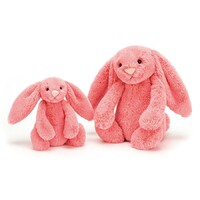 Jellycat Bunny - Bashful Coral - Small