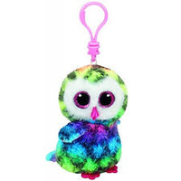 Beanie Boos - Owen the Multicolour Owl Clip On