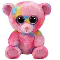 Beanie Boos - Franky the Pink Multicolored Bear Regular