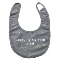 Baby Party Bib by Splosh